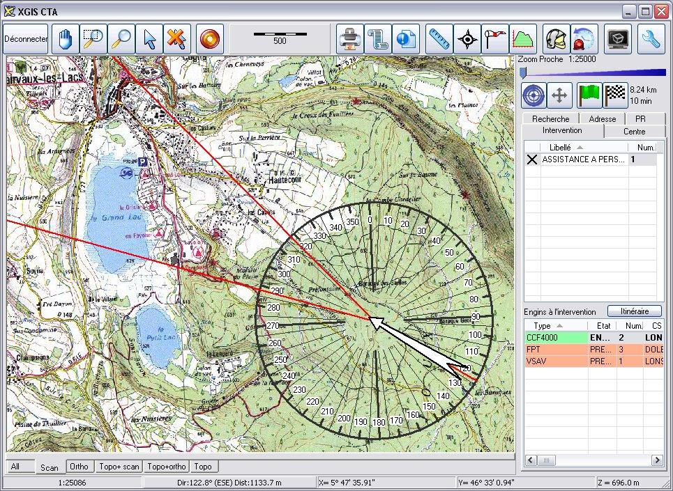 cartographie, GOC