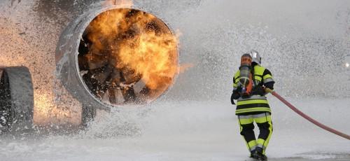 pompier aéroport, main courante, traçabilité