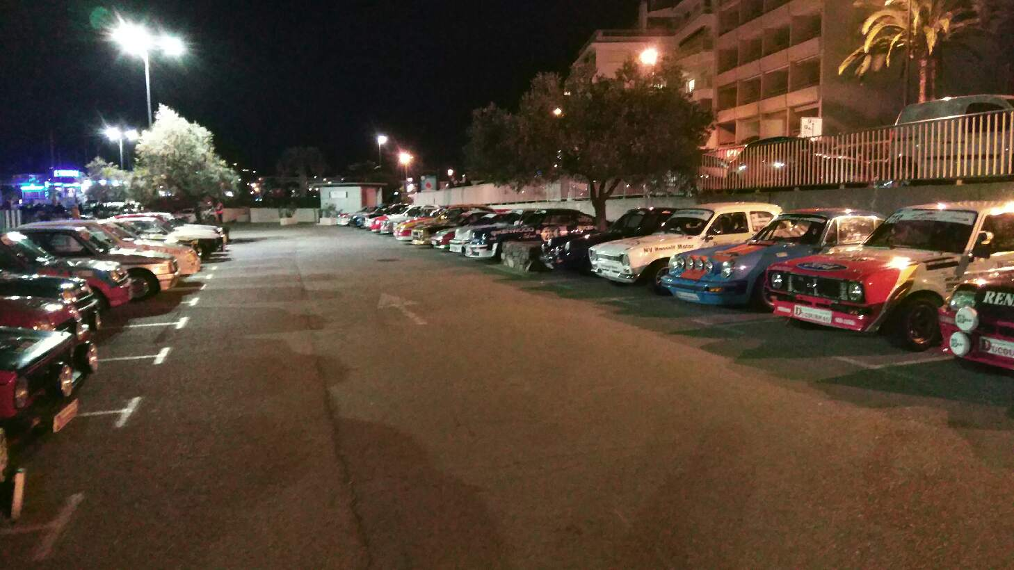 Jaguards au rallye du Var avec son partenaire VDS Racing