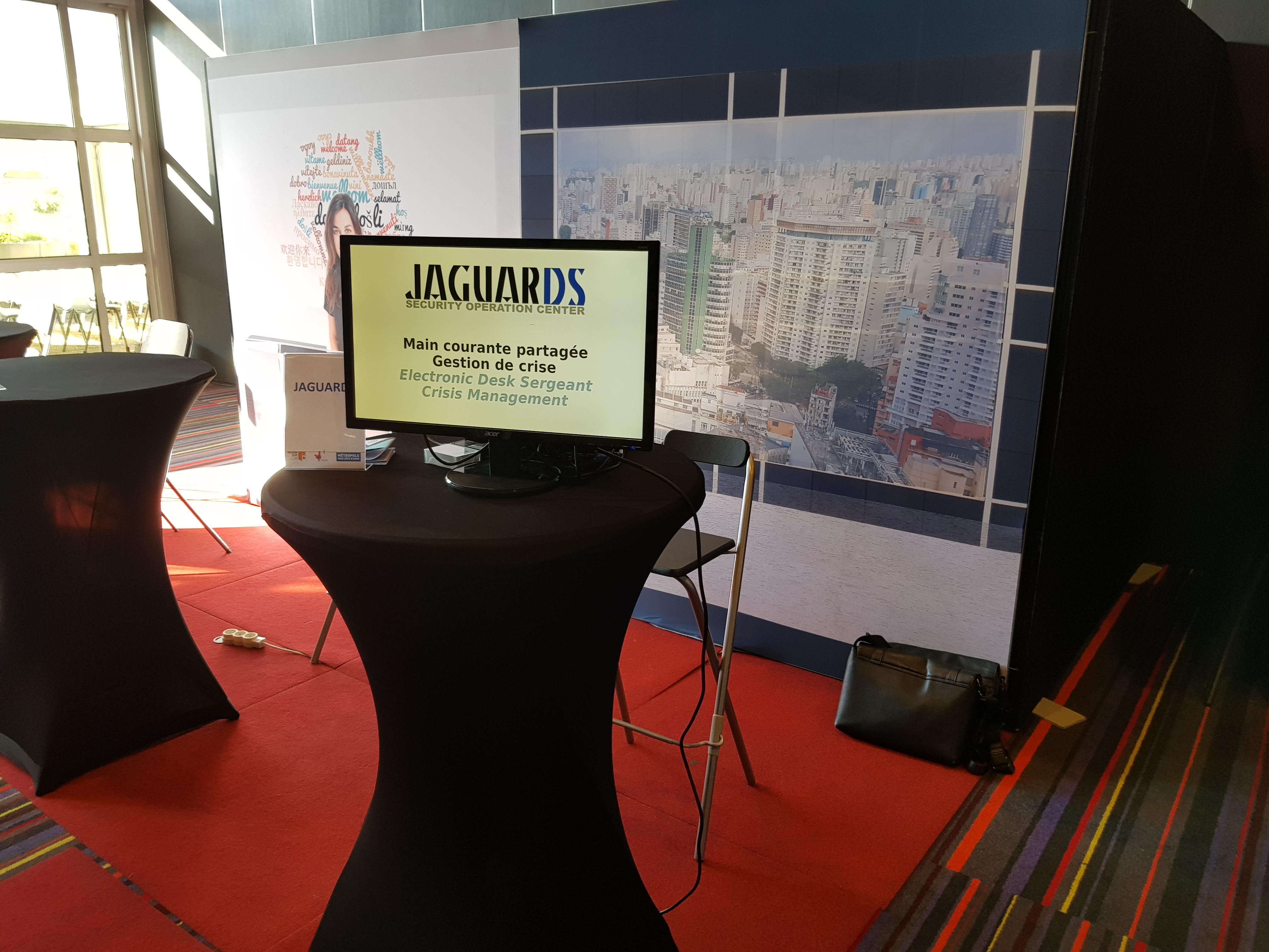 Jaguards exposait à Innovative City 2018