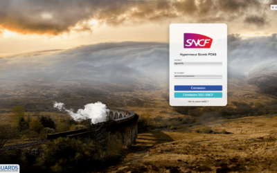 La SNCF choisit Jaguards pour son Poste de Commandement National Sûreté
